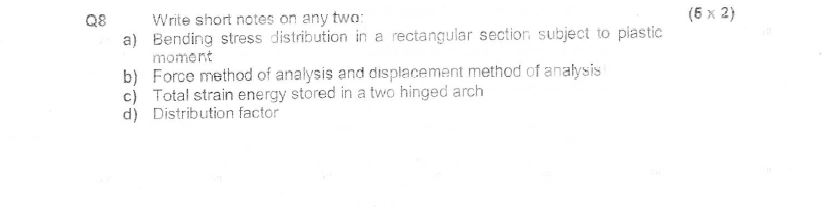 how to write a structural analysis