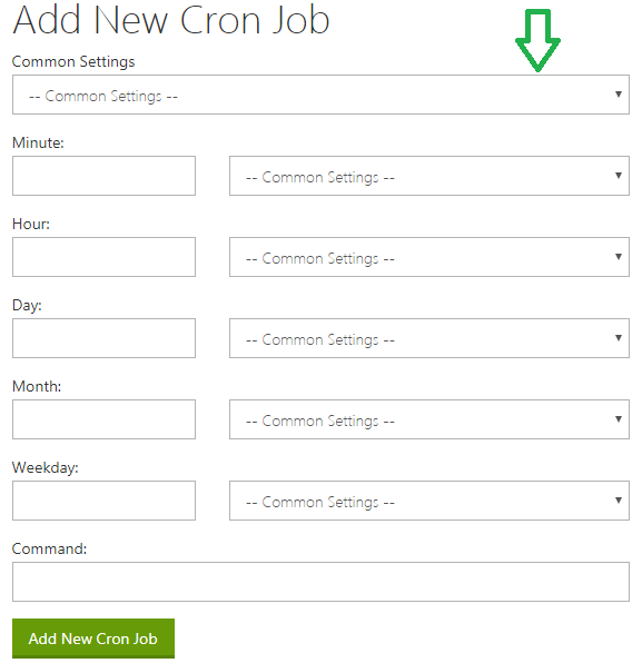 How To Create A Cron Job In Cpanel Php